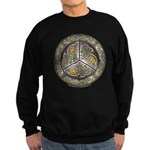 Bejeweled Celtic Shield Sweatshirt (dark)