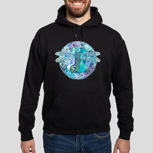 Cool Celtic Dragonfly Hoodie (dark)