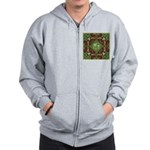 Celtic Dragon Labyrinth Zip Hoodie