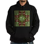 Celtic Dragon Labyrinth Hoodie (dark)