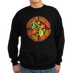 Celtic Autumn Leaves Sweatshirt (dark)