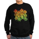 Celtic Leaf Tesselation Sweatshirt (dark)