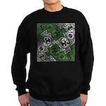 Celtic Puzzle Square Sweatshirt (dark)