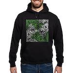 Celtic Puzzle Square Hoodie (dark)