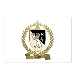 ROSSE Family Crest Postcards (Package of 8)