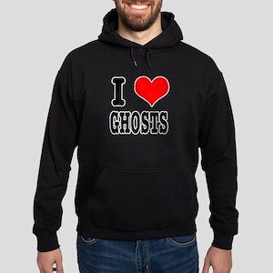 I Heart (Love) Ghosts Hoodie (dark)