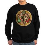 Celtic Reindeer Shield Sweatshirt (dark)