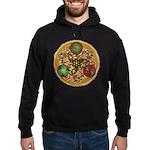 Celtic Reindeer Shield Hoodie (dark)