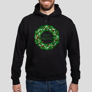 Celtic Solstice Wreath Hoodie (dark)