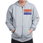 Re-Elect Client No. 9 Zip Hoodie