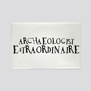 Archaeologist Extraordinaire Rectangle Magnet
