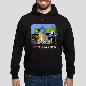 I Love to Garden Hoodie (dark)