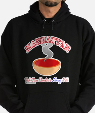 Manhattan Clam War Hoodie (dark)