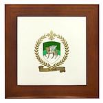 ROLLAND Family Crest Framed Tile