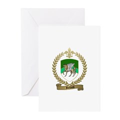 ROLLAND Family Crest Greeting Cards (Pk of 10)
