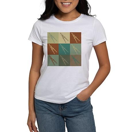 Drafting Pop Art Women's T-Shirt