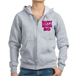 Nappy Headed Ho Pink Design Women's Zip Hoodie