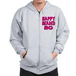Nappy Headed Ho Pink Design Zip Hoodie