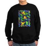 Leaf Mosaic Sweatshirt (dark)
