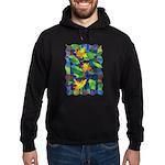 Leaf Mosaic Hoodie (dark)