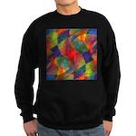 Worlds Abstract Sweatshirt (dark)