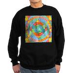 Sacred Geometry Watercolor Sweatshirt (dark)