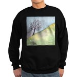 California Tree Watercolor Sweatshirt (dark)
