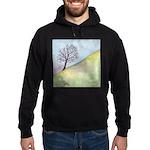 California Tree Watercolor Hoodie (dark)
