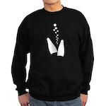 Fins and Bubbles Sweatshirt (dark)