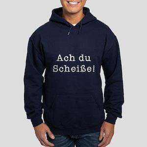 Ach du Scheisse Hoodie (dark)