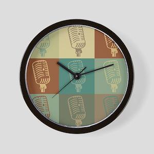 Dispatch Pop Art Wall Clock