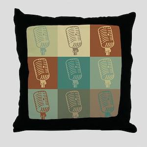 Dispatch Pop Art Throw Pillow