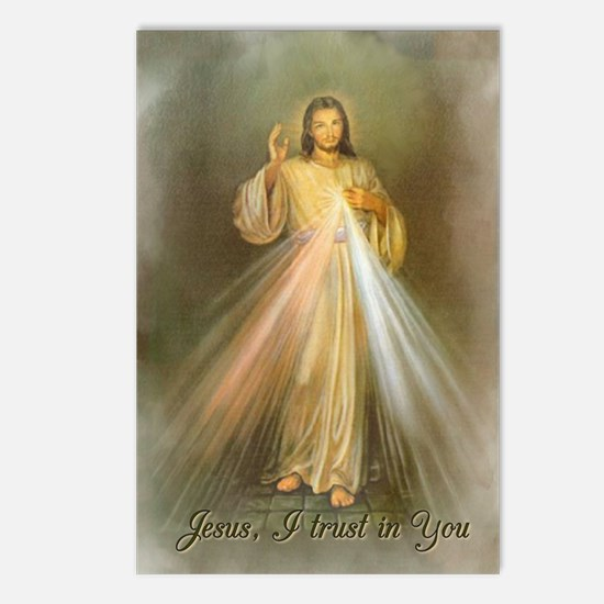 Divine Mercy Postcards (Package of 8)