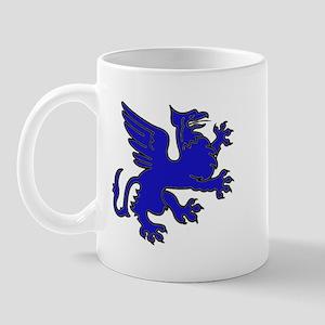 Blue Griffin Mug