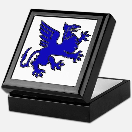 Blue Griffin Keepsake Box