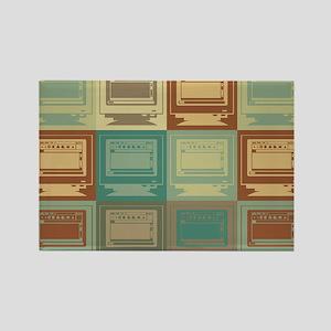 Desktop Publishing Pop Art Rectangle Magnet
