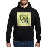 I Love Golf Hoodie (dark)