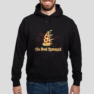 Pizza Pyramid Hoodie (dark)