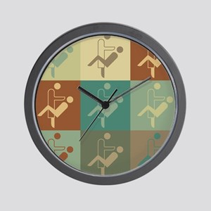 Dentistry Pop Art Wall Clock