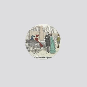 Pride & Prejudice Ch 28 Mini Button