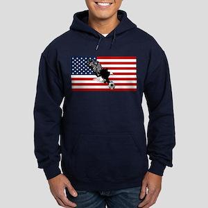 American Eagle Soccer Hoodie (dark)