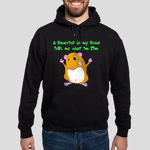 Mind Control Hamster Hoodie (dark)