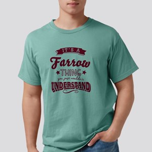its a farrow name surname thing T-Shirt
