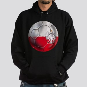 Poland Football Hoodie (dark)