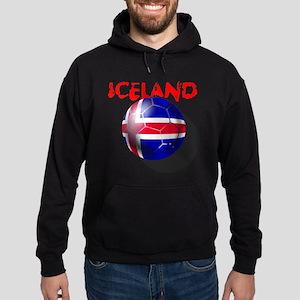 Icelandic Soccer Hoodie (dark)