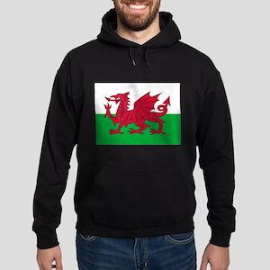 Welsh flag of Wales Hoodie (dark)