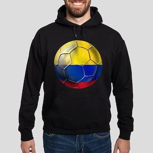 Colombian Soccer Futbol Hoodie (dark)