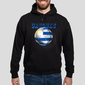 Uruguay Soccer Ball Hoodie (dark)