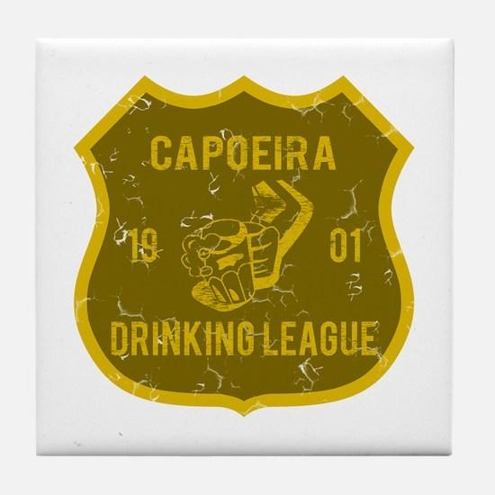 Capoeira Drinking League Tile Coaster