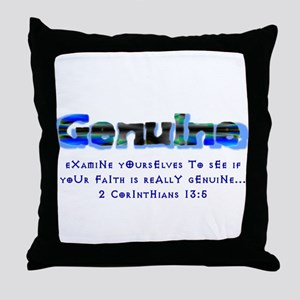 Genuine Throw Pillow